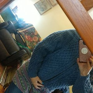Gorgeous handknit sweater jacket